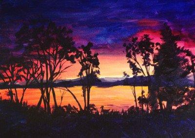 Sunset Study REF#DK005