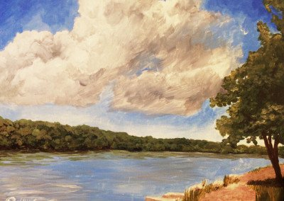 Fox River Painting
