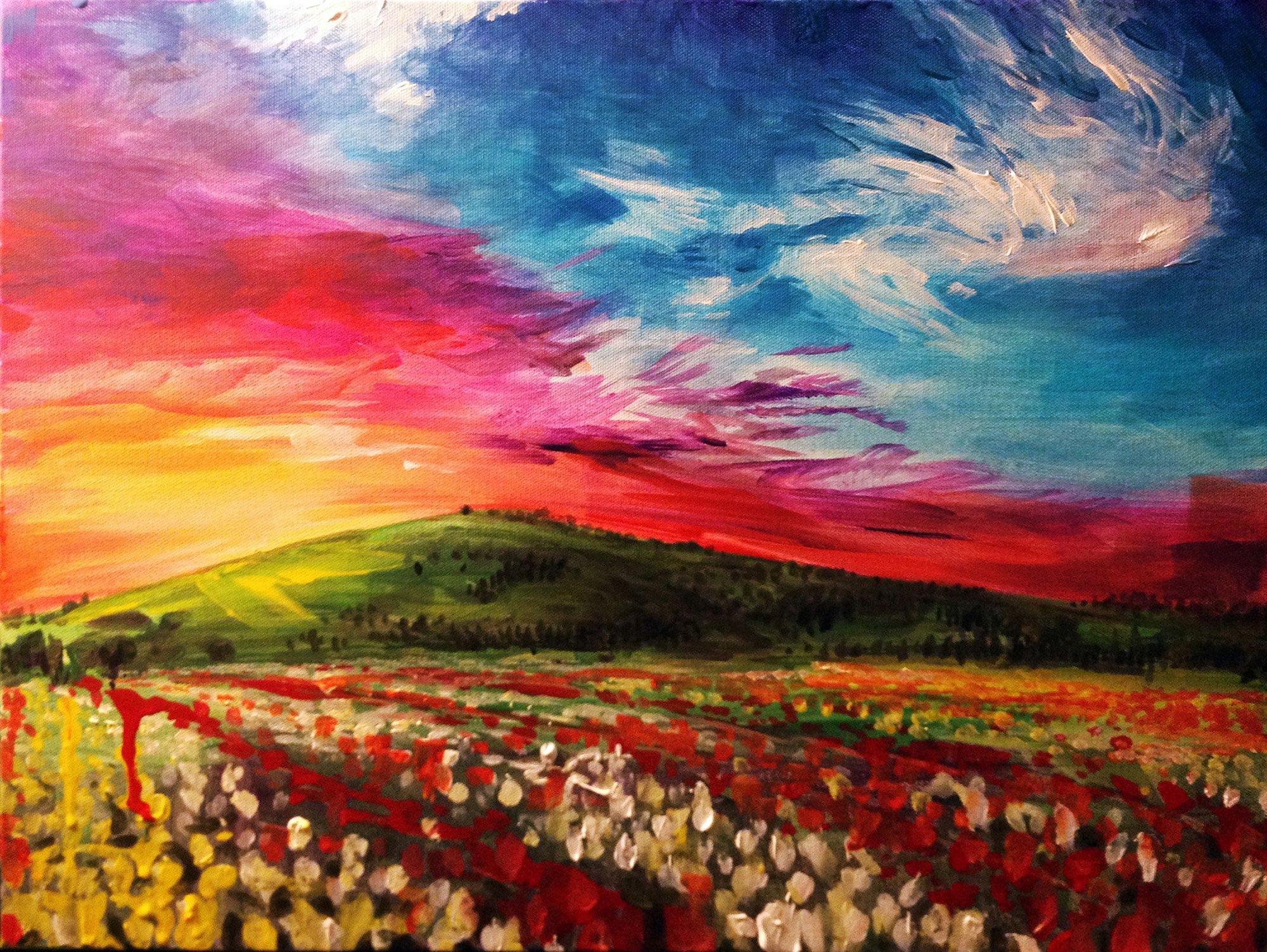 Cool Landscape Painting