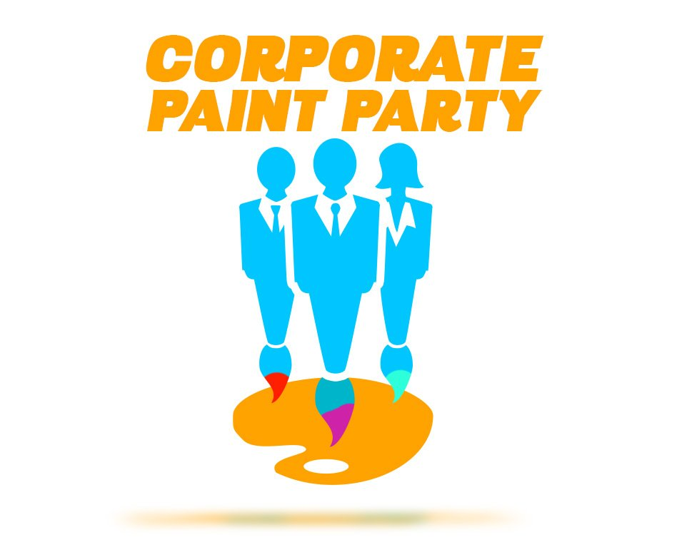 corporate paint party