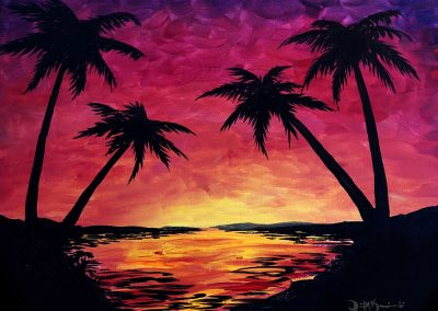 Easy Palms Painting
