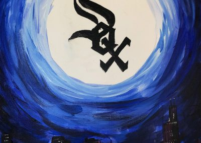 easy sox painting