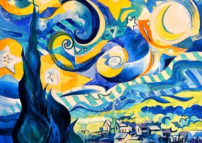 Van Gogh Variations Paint Night 2
